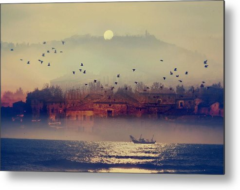 Morning Metal Print featuring the photograph Good Morning Italy by Fabio Rossi