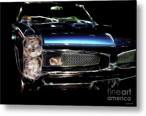 Pontiac Metal Print featuring the photograph Gran Turismo Omologato by Wingsdomain Art and Photography