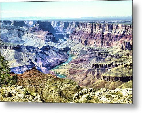 Grand Canyon Metal Print featuring the photograph Grand Canyon 2272 by Sharon Broucek