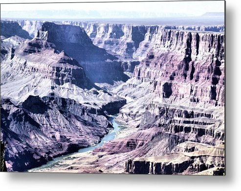 Grand Canyon Metal Print featuring the photograph Grand Canyon 2275 by Sharon Broucek
