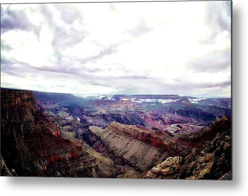 Landscape Metal Print featuring the photograph Grand Canyon by Matty Archer
