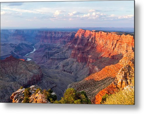 Horizontal Metal Print featuring the photograph Grand Canyon National Park, Arizona by Javier Hueso