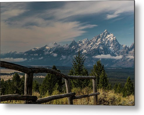 Grand Teton National Park Metal Print featuring the photograph Grand Teton Signal Mountain by Clicking With Nature