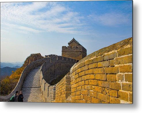 Beijing Metal Print featuring the photograph Great Wall Of China by Colleen Bessel