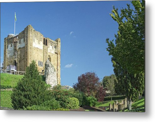 Guildford Metal Print featuring the photograph Guildford Castle by Julian High