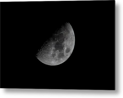 Half Moon Metal Print featuring the photograph Half Moon by Brent Martin - My Photography Adventure