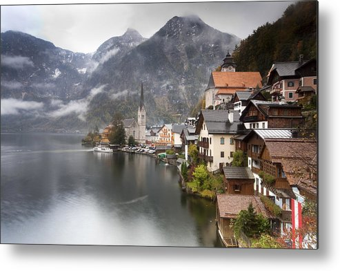 Hallstatt Metal Print featuring the photograph Hallstatt by Andre Goncalves