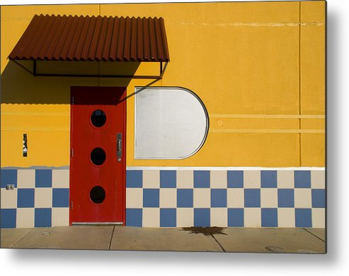 Architecture Metal Print featuring the photograph Happy Days by Skip Hunt