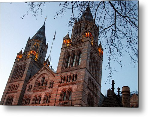 Jez C Self Metal Print featuring the photograph History Museum by Jez C Self