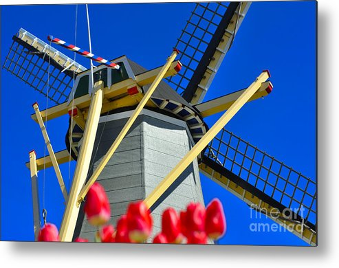 Windmill Metal Print featuring the photograph Holland by LS Photography