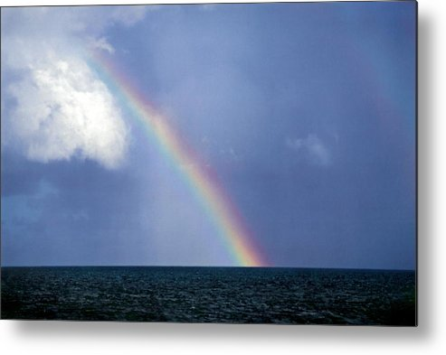 Landscape Metal Print featuring the photograph Horizontal Number 13 by Sandra Gottlieb