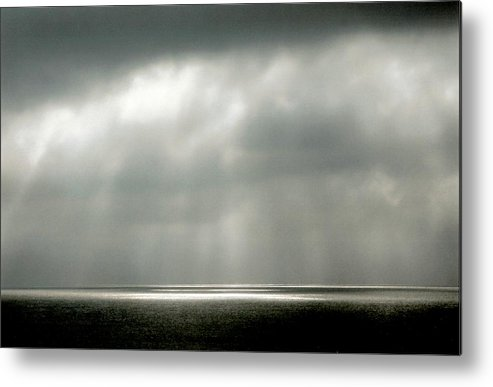 Landscape Metal Print featuring the photograph Horizontal Number 9 by Sandra Gottlieb