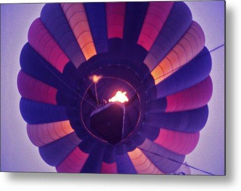 Hot Air Balloon Metal Print featuring the photograph Hot Air Balloon - 7 by Randy Muir