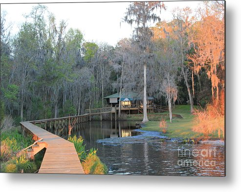 House Metal Print featuring the photograph House On The Inlet by Rod Andress