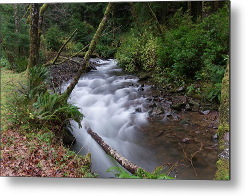 Rivers Metal Print featuring the photograph How The River Flows by Jeff Swan
