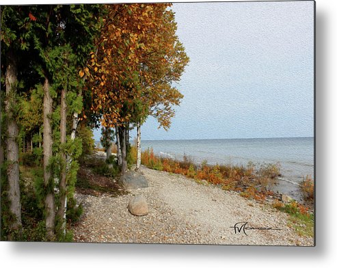 Outdoor Images Metal Print featuring the photograph Huron Heaven by Felipe Gomez