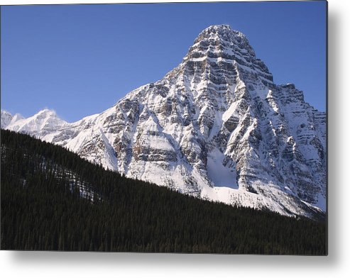 Rocky Mountains Metal Print featuring the photograph I Love The Mountains Of Banff National Park by Tiffany Vest