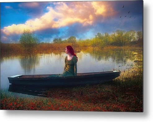 Waiting Metal Print featuring the photograph I Will Wait For You by John Rivera