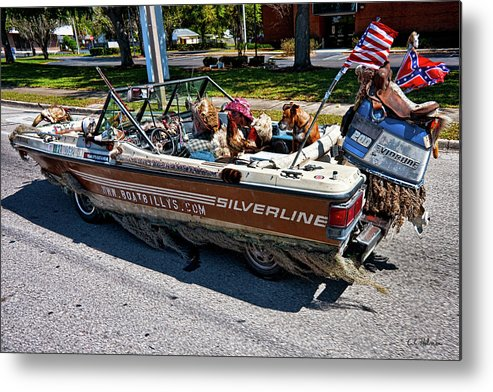Boat Metal Print featuring the photograph Identity Crisis by Christopher Holmes