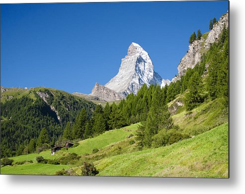 Horizontal Metal Print featuring the photograph Idylic Landscape by Alexander W Helin