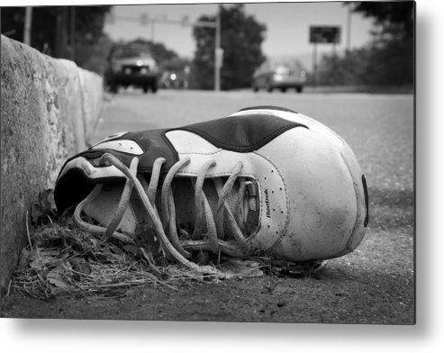 Shoes Metal Print featuring the photograph Ignored by Kevin Brett