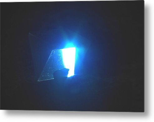 Prism Metal Print featuring the photograph Indigo by Steven Wirth