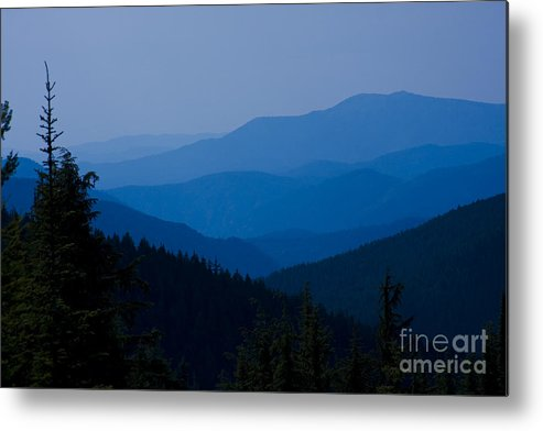 Mountain Metal Print featuring the photograph Infinity by Idaho Scenic Images Linda Lantzy