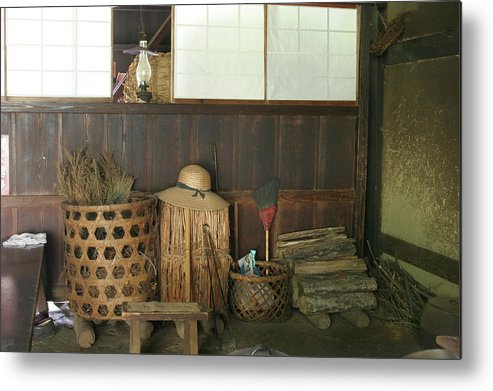 Japan Metal Print featuring the photograph Inside The Traditional Japanese House by Masami Iida