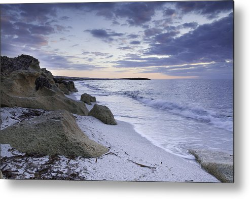 Isarutas Metal Print featuring the photograph Is Arutas At Sunset by Enrico Crobu