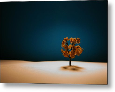 Tree Metal Print featuring the photograph It Is Always There by Mark Ross