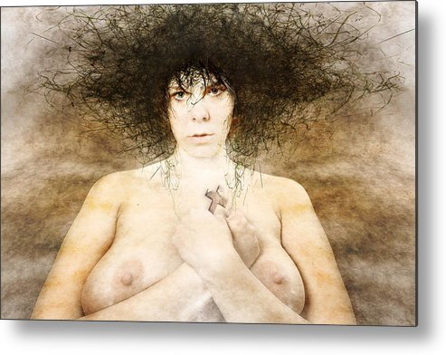Metal Print featuring the photograph Katechist by Zygmunt Kozimor