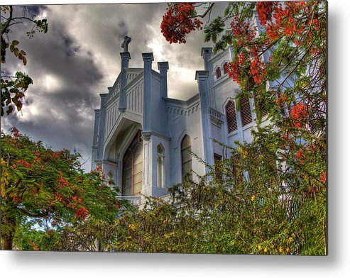 Church Metal Print featuring the photograph Key West Church by William Wetmore