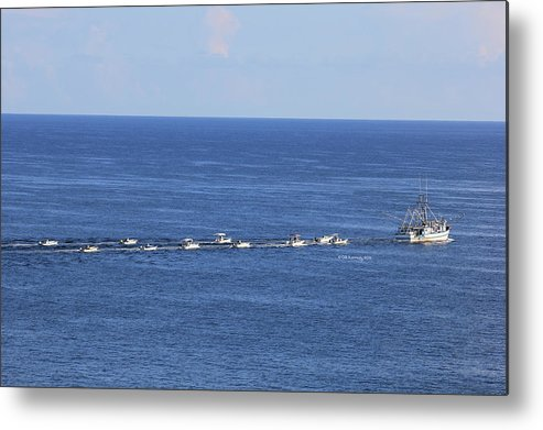 Key West Metal Print featuring the photograph Key West Fishing by Deborah Kennedy