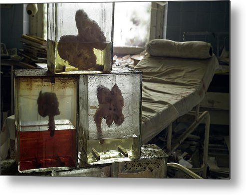 Urbex Metal Print featuring the photograph Kidneys by Marissa Mancini