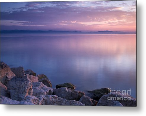 Landscape Metal Print featuring the photograph Lake Constance by Silke Magino
