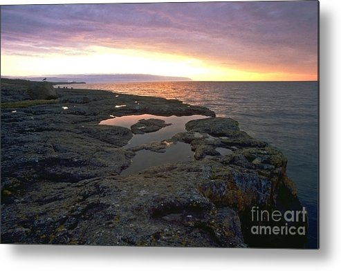 Lake Superior Metal Print featuring the photograph Lake Superior Sunrise by Sven Brogren