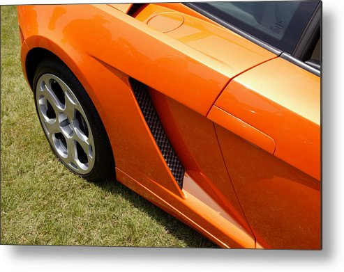 Cars Metal Print featuring the photograph Lambo by Steve Parrott
