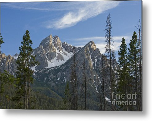 Majestic Metal Print featuring the photograph Last Light On Mcgowan by Idaho Scenic Images Linda Lantzy