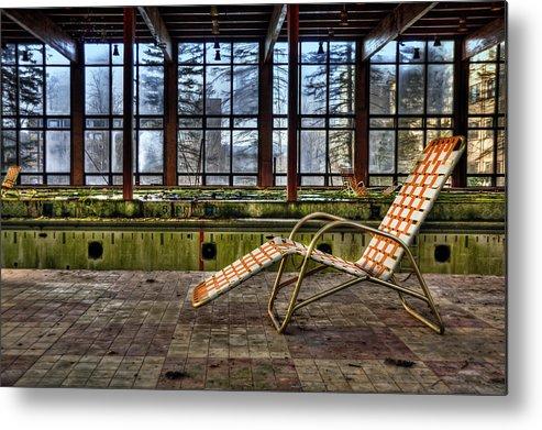 Lounge Metal Print featuring the photograph Last Resort by Evelina Kremsdorf
