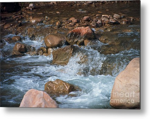Creek Metal Print featuring the photograph Laughing Water by Kathy McClure