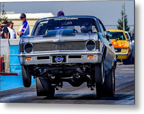 Automobile Metal Print featuring the photograph Launching Nova by Bill Gallagher