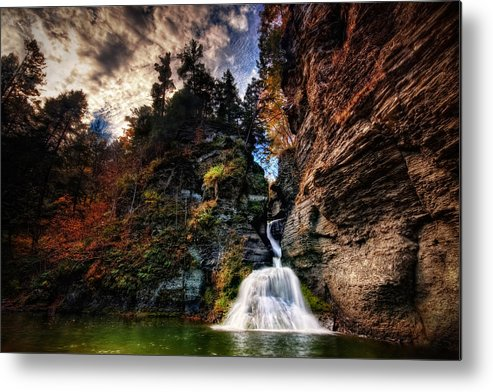 Mine Kill State Park Metal Print featuring the photograph Laurelindorinan by Neil Shapiro