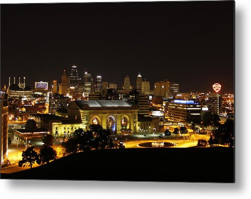 Union Station Metal Print featuring the photograph Laws And Outlaws by Kathi Brundage