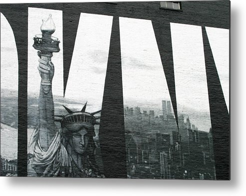 Nyc Metal Print featuring the photograph Liberty To All by Chuck Kuhn