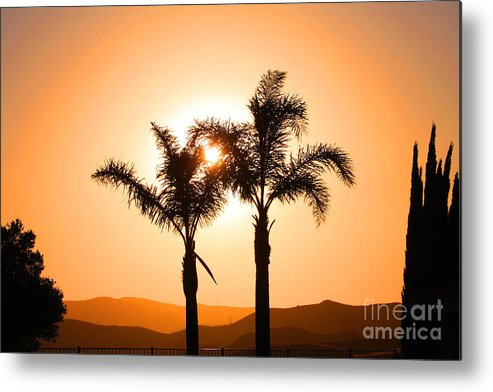 Sunset Metal Print featuring the photograph Lidia's World Part IIi by Tommy Anderson