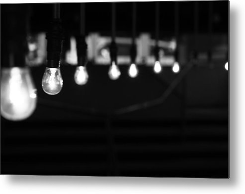 Horizontal Metal Print featuring the photograph Light Bulbs by Carl Suurmond