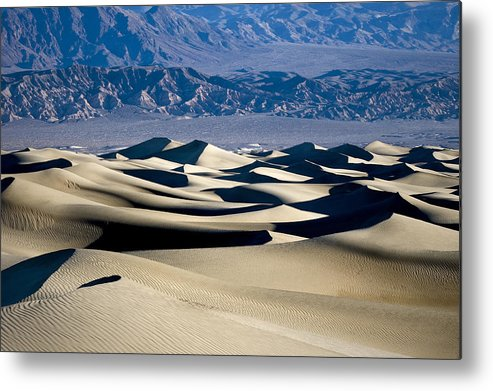 Blue Metal Print featuring the photograph Like The Sea by Mike Irwin