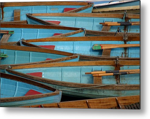Jez C Self Metal Print featuring the photograph Lined Up And Waiting by Jez C Self