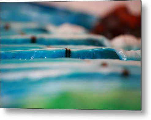 Surf Metal Print featuring the sculpture Lines by Ronnie Jackson