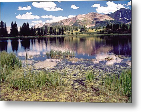 Lake Metal Print featuring the photograph Little Molas Lake Colorado by Greg Taylor
